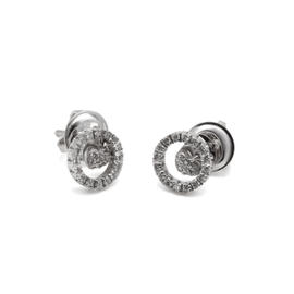 18k Piero Mila Diamond Earrings