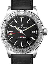 "Image of ""Ernst Benz Chrono Flite GMT Dual Time Zone Stainless Steel Mens"""