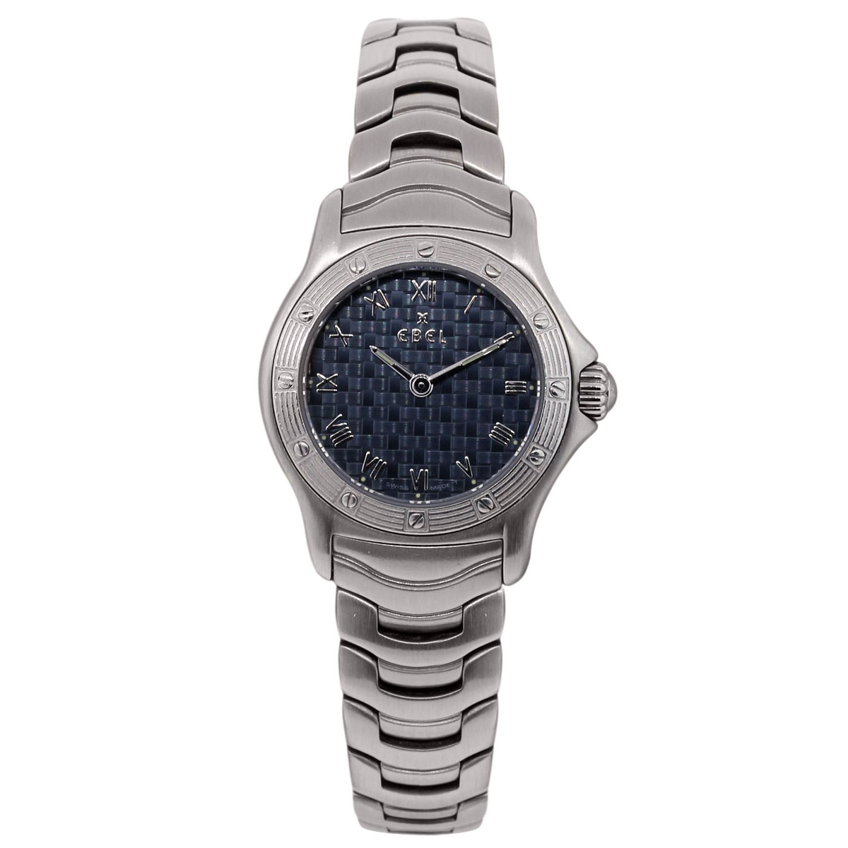 """Image of """"Ebel Dresswave Stainless Steel 24mm Womens Watch"""""""