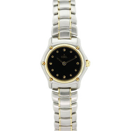 Ebel 1911 Classic 18K Yellow Gold And Stainless Steel Womens Watch