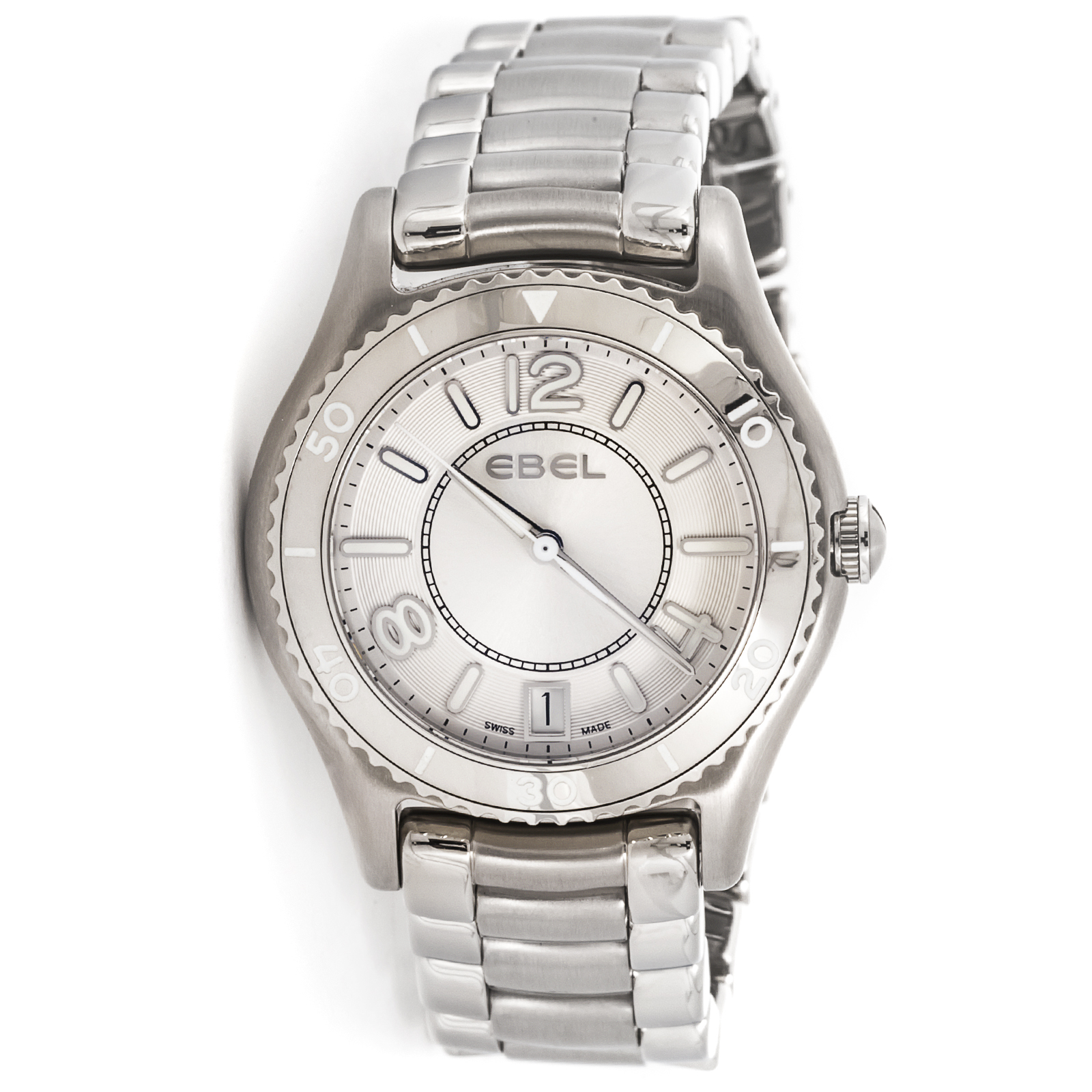 "Image of ""Ebel X-1 1216107 Stainless Steel Womens Watch"""