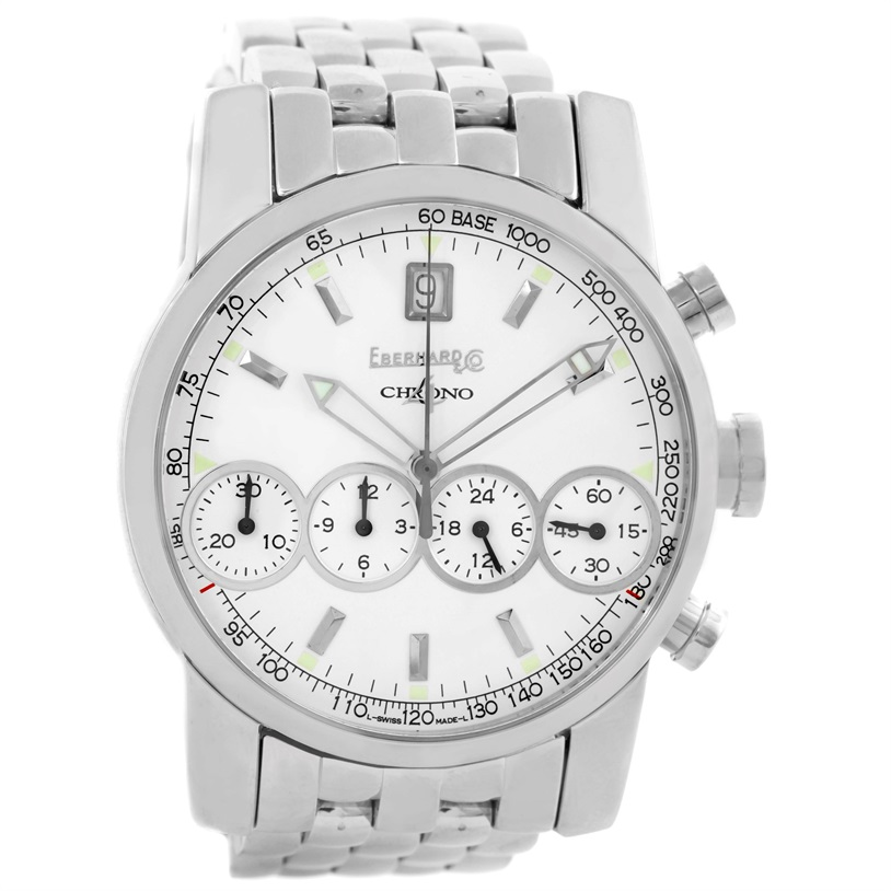 """Image of """"Eberhard 31041 Stainless Steel Automatic 40mm Mens Watch"""""""