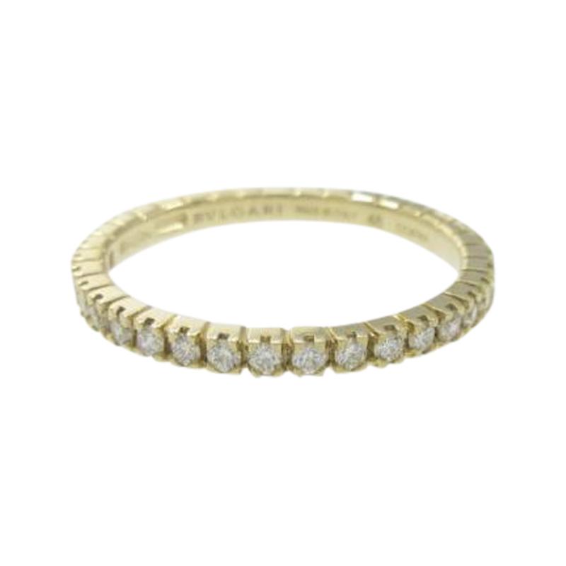 "Image of ""Bulgari 18K Yellow Gold Eternity Small Ring Size 4.5"""