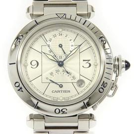 Cartier Pasha W31037H3 Stainless Steel 38 mm Mens Watch
