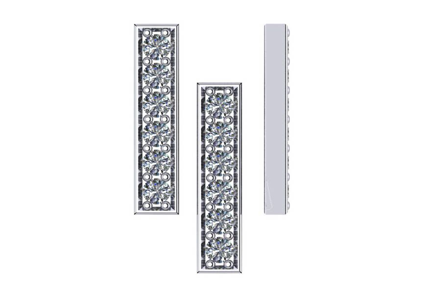 "Image of ""Bar Collection Earring"""