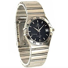 Omega Constellation 1512.40.00 Stainless Steel Quartz 36 mm Mens Watch