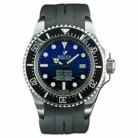 Rolex Sea Dweller Deepsea 116660 Stainless Steel / Rubber 44mm Mens Watch