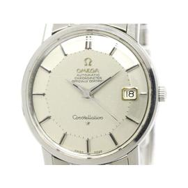 Omega Constellation 168.010 Stainless Steel with Silver Dial 35mm Mens Watch