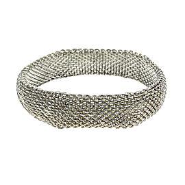 Tiffany & Co. Sterling Silver Mesh Cuff Bracelet