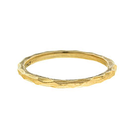 Tiffany & Co. Paloma Picasso 18k Rose Gold Hammered Ring