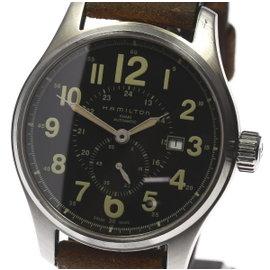 Hamilton Khaki 100M Stainless Steel Automatic 44mm Mens Watch