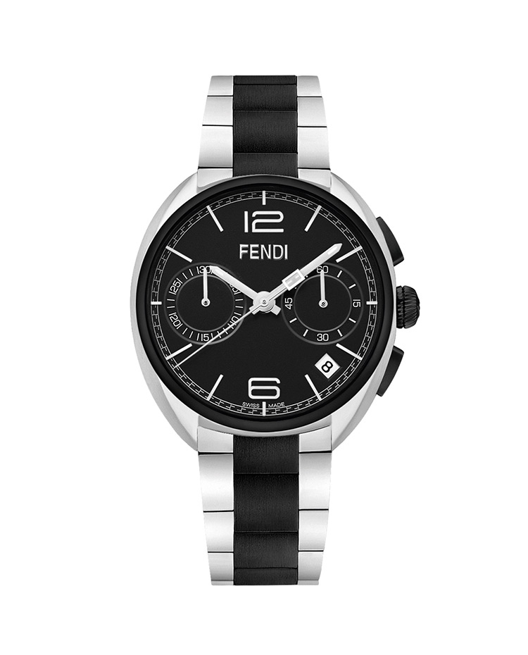 "Image of ""Momento Fendi Stainless Steel Two-Tone"""