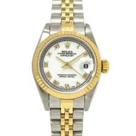 Rolex Datejust Yellow Gold & Stainless Steel Automatic 26mm Womens Watch