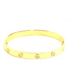 Cartier 18K Rose Gold Love New Screw style System Bracelet Size 17