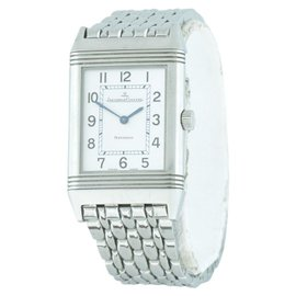 Jaeger LeCoultre Reverso Duetto 252.8.86 Stainless Steel 38.5mm Mens Watch