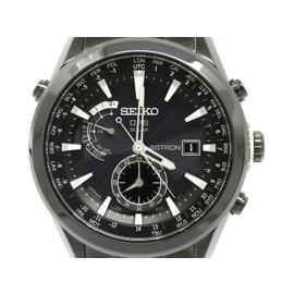 Seiko Astron 7X52-0AA0 Titanium GPS Solar 41mm Mens Watch
