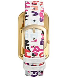 Fendi Chameleon Gold Tone Ion-Plated Stainless Steel 29mm Womens Watch