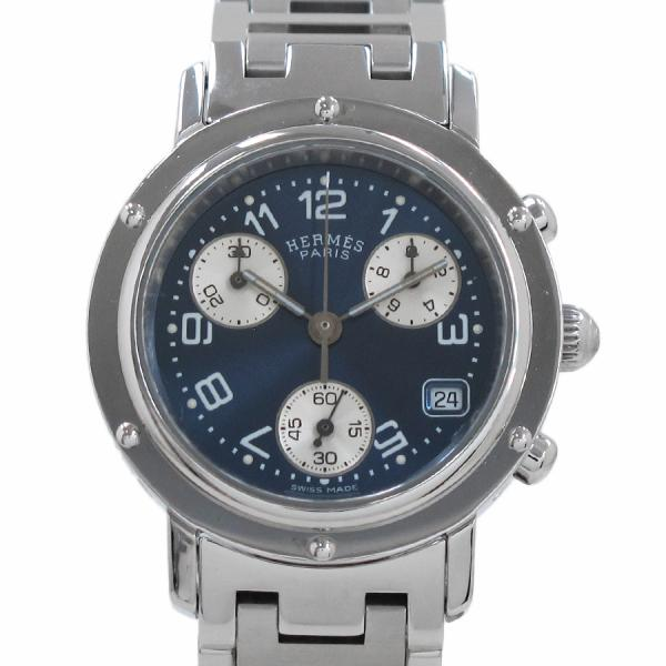"""Image of """"Hermes Clipper CL1 .310 Stainless Steel Quartz 31mm Womens Watch"""""""