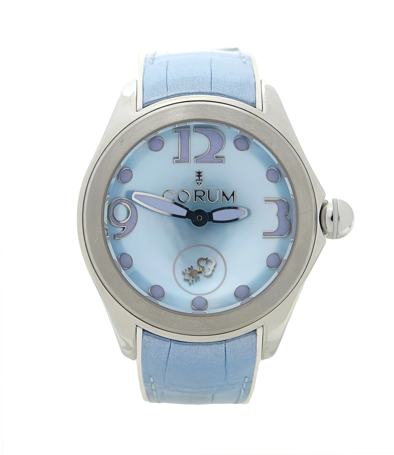 "Image of ""Corum Bubble L295/03047 Stainless Steel & Rubber Mother Of Pearl Dial"""