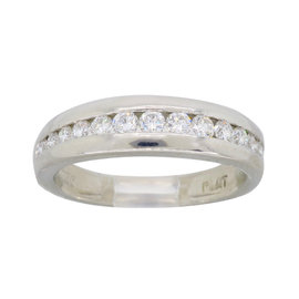 Scott Kay Platinum 0.50ct. Diamond Band Ring Size 5.5