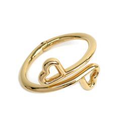 Louis Vuitton Gold Tone Metal Bracelet