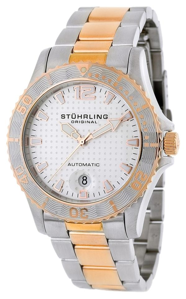 "Image of ""Stuhrling Regatta 161.332242 Stainless Steel 42mm x 41mm Watch"""