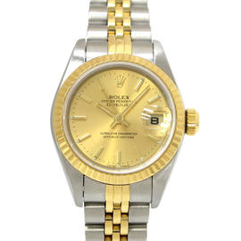 Rolex Datejust Stainless Steel & Yellow Gold Automatic 26mm Womens Watch