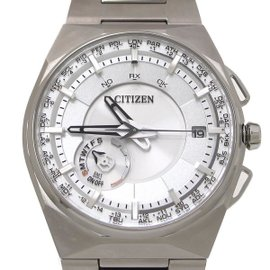 Citizen F100-T021085 Titanium Quartz 45.4mm Mens Watch