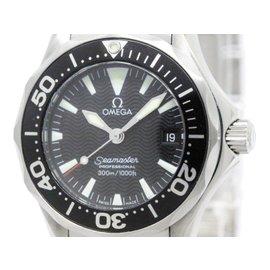 Omega Seamaster Professional 300M Quartz Womens Watch