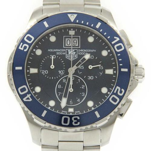 "Image of ""Tag Heuer Can1011.ba0821 Aquaracer Stainless Steel Quartz 44.5mm Men's"""