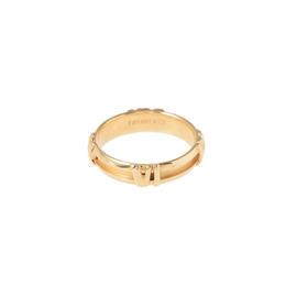 Tiffany & Co. 18K Yellow Gold Atlas Ring Size 4.75