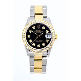 Rolex Datejust Yellow Gold and Stainless Steel 31mm Unisex Watch