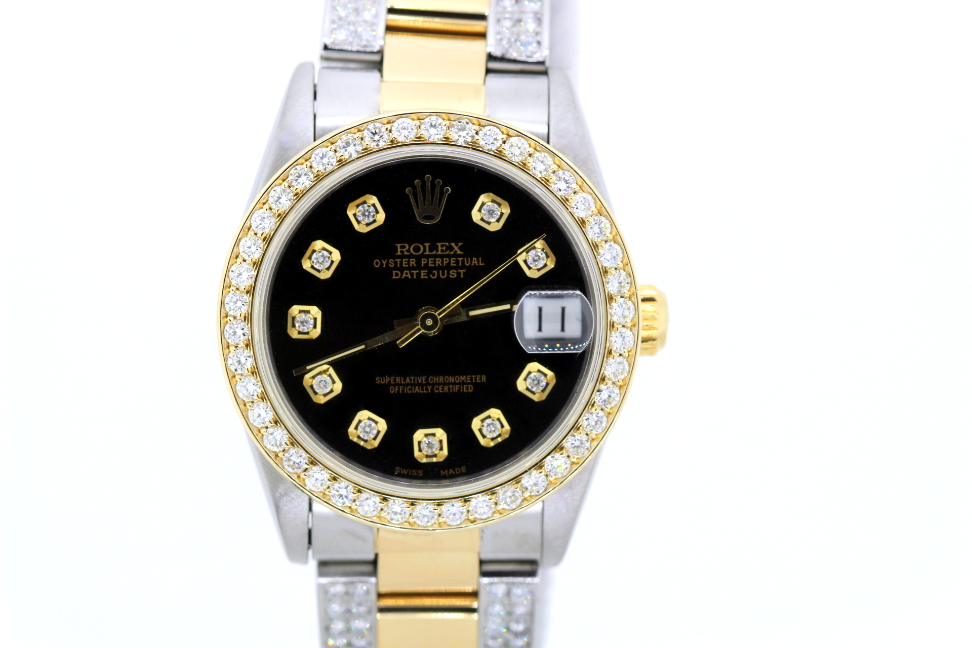 """Image of """"Rolex Datejust Stainless Steel Yellow Gold 31mm Unisex Watch"""""""