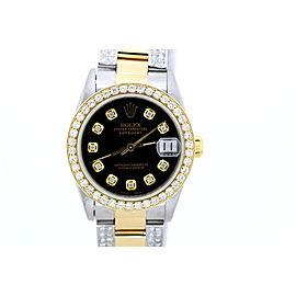 Rolex Datejust Stainless Steel Yellow Gold 31mm Unisex Watch
