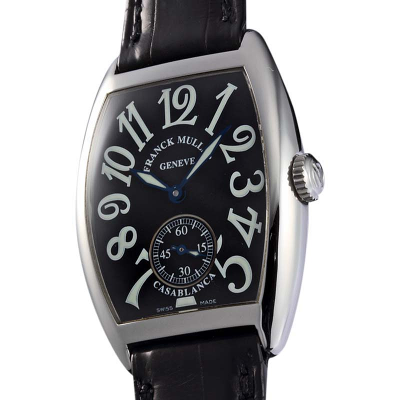 """Image of """"Frank Muller Casablanca 7500 S6 Stainless Steel Mens Watch"""""""