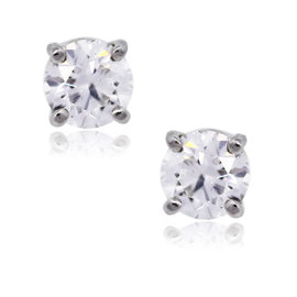 Tiffany & Co. Platinum & 1.01tcw Diamond Stud Earrings
