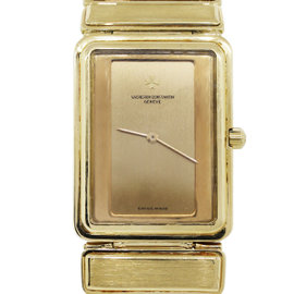 Vacheron Constantin 18K Yellow Gold Harmony Quartz Watch