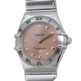 Omega Constellation 1561.61 Stainless Steel Quartz Womens 22mm Watch