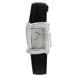 Henry Dunay Sabi Diamond 18K Womens 28mm Watch