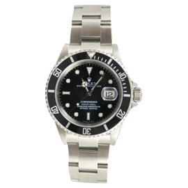 Rolex Submariner 16610 Stainless Steel Black Face 2007 + Watch