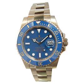 Rolex Submariner 116618 Heavy Band Blue Cerachrom Bezel and Glidelock Band 2009 Watch