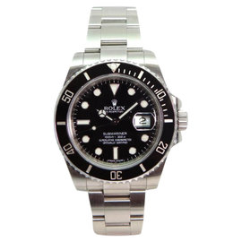 Rolex Submariner 116610 Heavy Band Black Cerachrom Bezel and Glidelock Band Most Current Model Watch