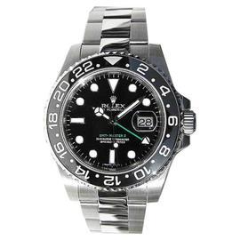 Rolex GMT Master II 116710 Stainless Steel Black Face Ceramic Bezel Watch