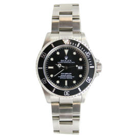 Rolex Sea-Dweller Stainless Steel Model 16600 with Solid End Links Watch
