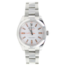 Rolex MILGAUSS Model 116400 White Dial - Perfect Display Model Watch