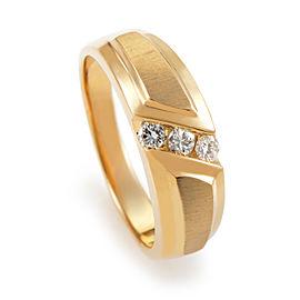I.B. Goodman 14K Yellow Gold Diamond Band Ring
