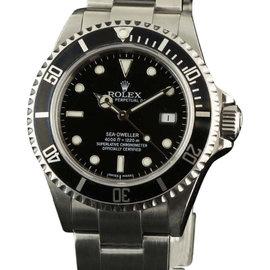 Rolex Sea-Dweller 16600 Steel Black Automatic 2006 40mm Watch