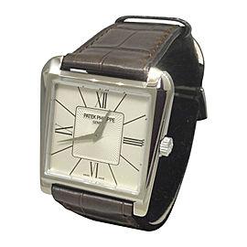Patek Phillipe Gondolo 5489G 18k White Gold 32.5mm Watch