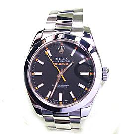 Rolex Milgauss 116400 Stainless Steel 40mm Men's Watch
