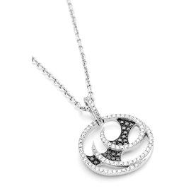 Stephen Webster 18K White Gold & Diamonds Small Vortex Pendant Necklace